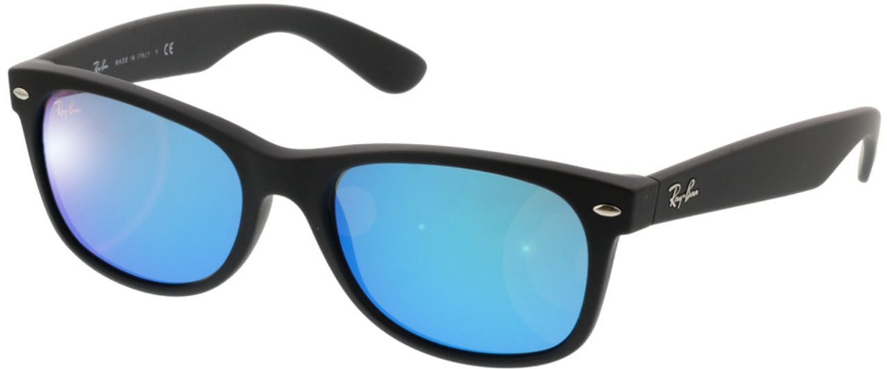 Picture of glasses model Ray-Ban New Wayfarer RB2132 622/17 55-18 in angle 330