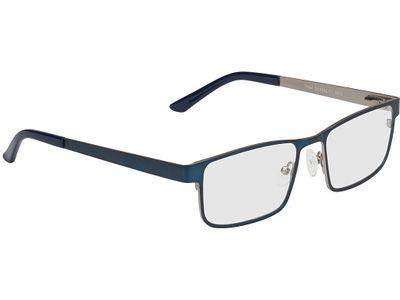 Brille Bochum-blau/silber