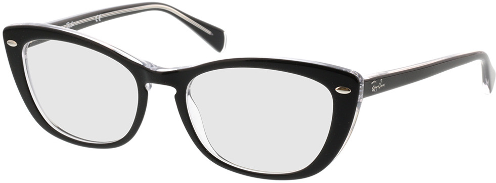 Picture of glasses model Ray-Ban RX5366 2034 54-18 in angle 330
