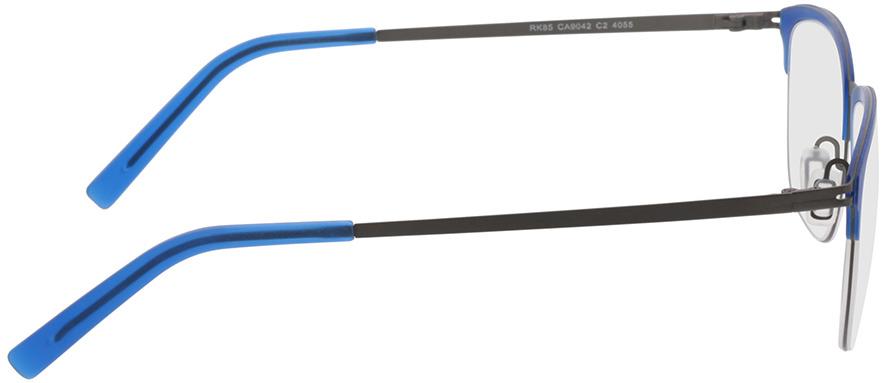 Picture of glasses model Milos-blau/anthrazit in angle 90