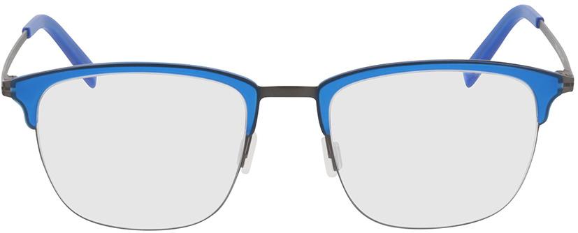 Picture of glasses model Milos-blau/anthrazit in angle 0