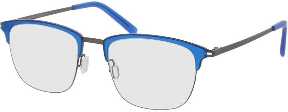 Picture of glasses model Milos-blue-gun in angle 330
