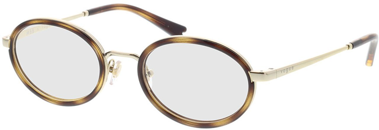 Picture of glasses model Vogue VO4167 848 48-19 in angle 330