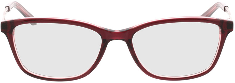 Picture of glasses model Rosalie-rot/gold in angle 0