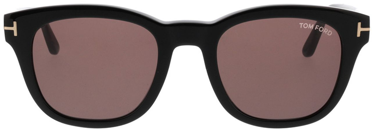Picture of glasses model Tom Ford FT0676 01E in angle 0