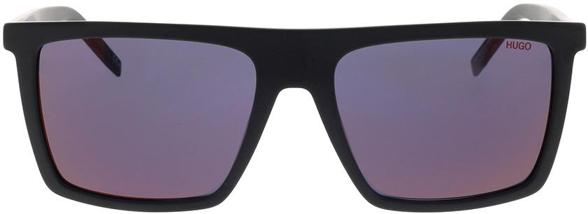 Picture of glasses model Hugo HG 1054/S 003 56-18 in angle 0