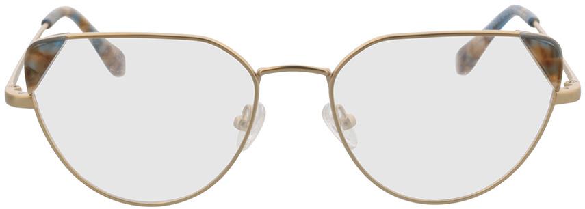 Picture of glasses model Kiki-gold in angle 0