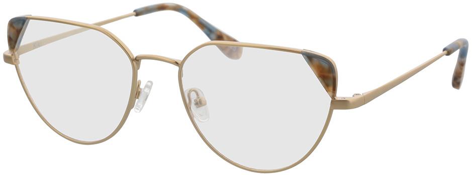 Picture of glasses model Kiki-gold in angle 330