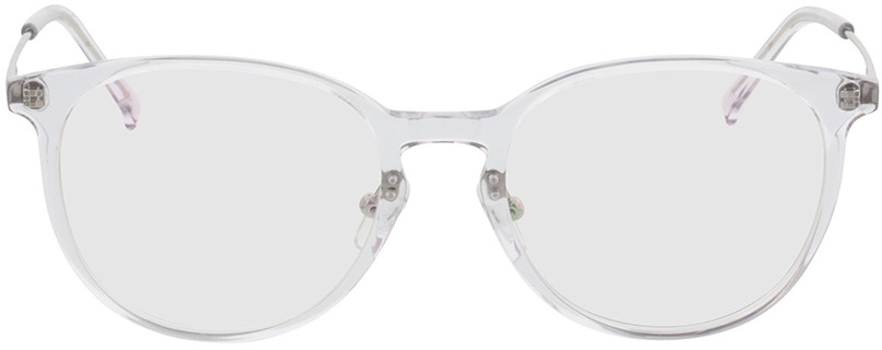Picture of glasses model Kelibia-transparent/silber in angle 0