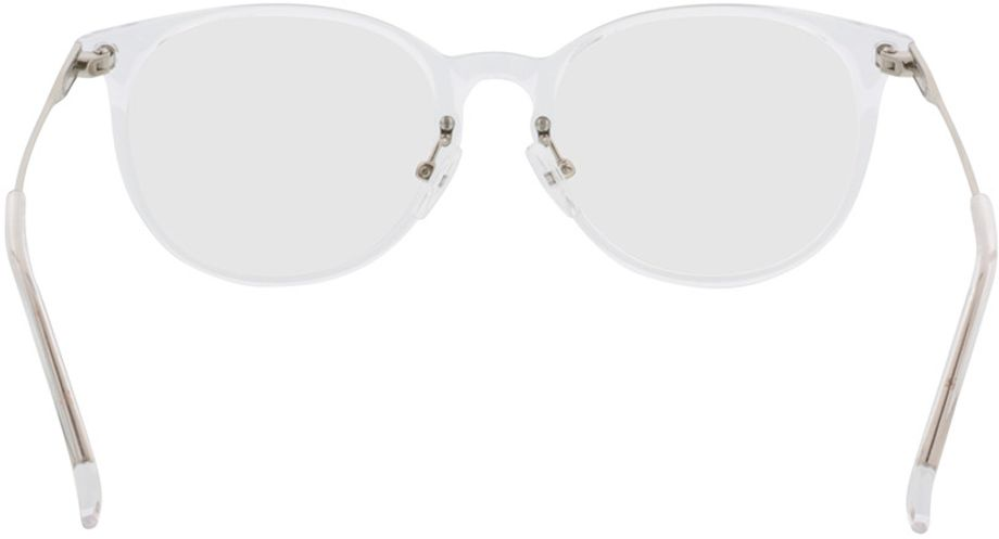 Picture of glasses model Kelibia-transparent-silver in angle 180