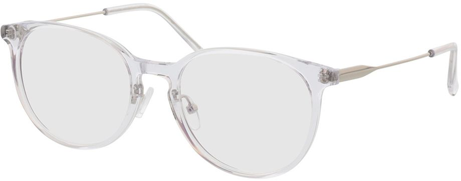 Picture of glasses model Kelibia-transparent-silver in angle 330