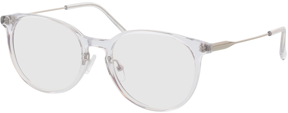 Picture of glasses model Kelibia-transparent/silber in angle 330