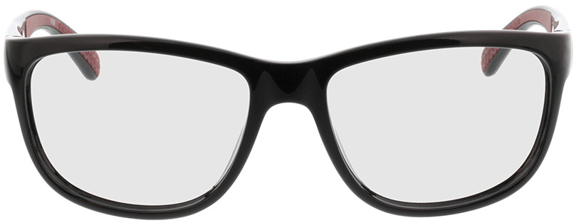 Picture of glasses model Pulse-schwarz/rot in angle 0