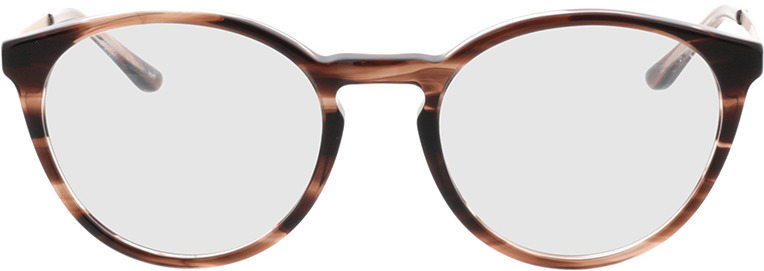 Picture of glasses model Hazel-horn braun in angle 0