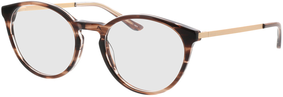Picture of glasses model Hazel-horn braun in angle 330