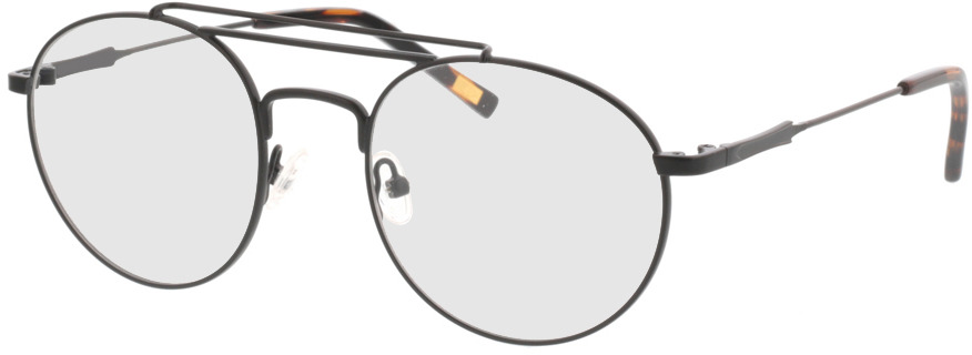 Picture of glasses model Angelo-schwarz in angle 330