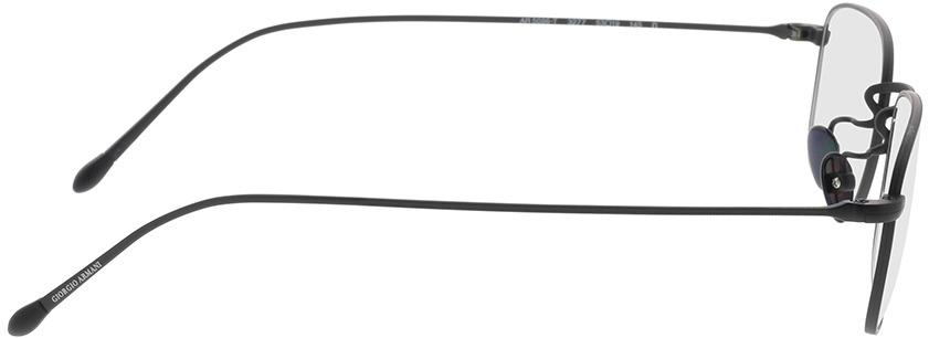 Picture of glasses model Giorgio Armani AR5096T 3277 53-19 in angle 90