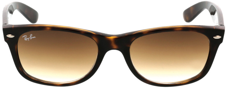 Picture of glasses model Ray-Ban New Wayfarer RB2132 710/51 52-18 in angle 0