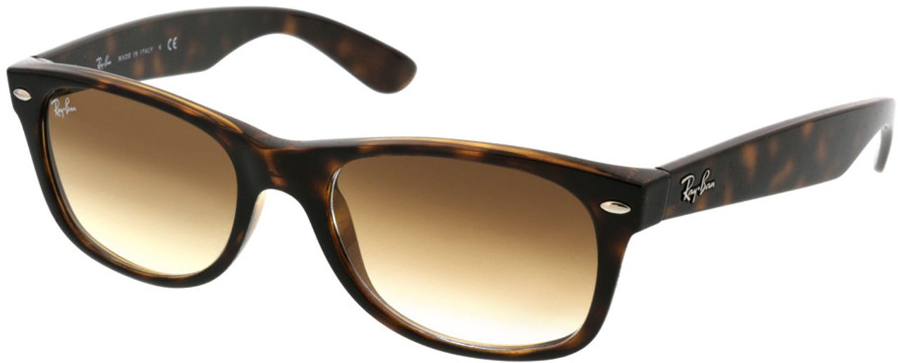 Picture of glasses model Ray-Ban New Wayfarer RB2132 710/51 52-18 in angle 330