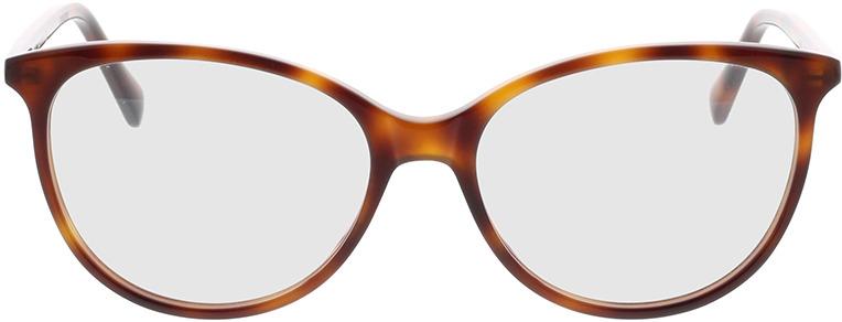 Picture of glasses model Gucci GG0550O-006 53-16 in angle 0
