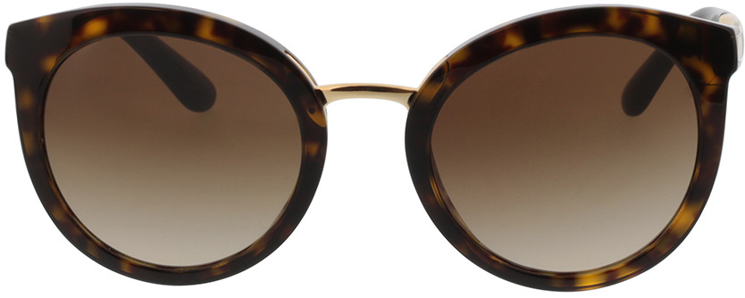 Picture of glasses model Dolce&Gabbana DG4268 502/13 52-22 in angle 0