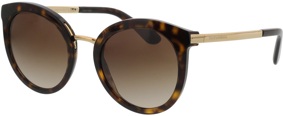 Picture of glasses model Dolce&Gabbana DG4268 502/13 52-22 in angle 330