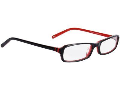 Brille Greer-schwarz/rot