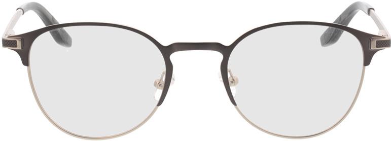 Picture of glasses model Danilo-matt dunkelgrau matt silber in angle 0