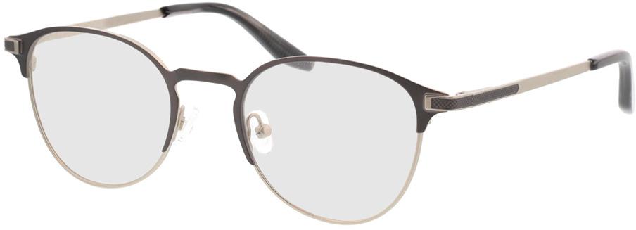 Picture of glasses model Danilo-matt dunkelgrau matt silber in angle 330