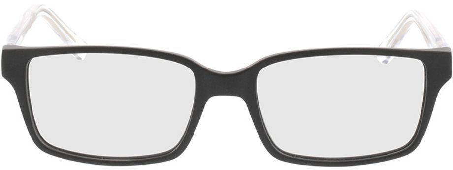 Picture of glasses model Nixon-matt schwarz in angle 0