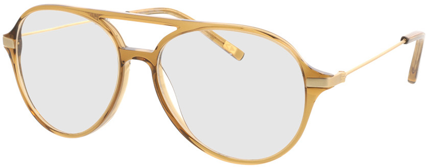 Picture of glasses model Divo-braun transparent in angle 330