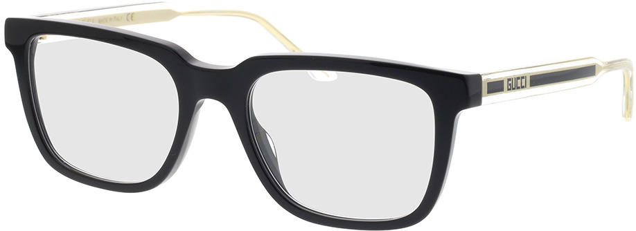 Picture of glasses model Gucci GG0560O-001 53-20 in angle 330