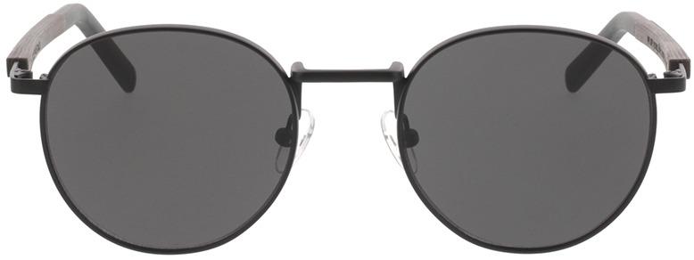 Picture of glasses model TAKE A SHOT John: Schwarzes Eichenholz 50-20 in angle 0