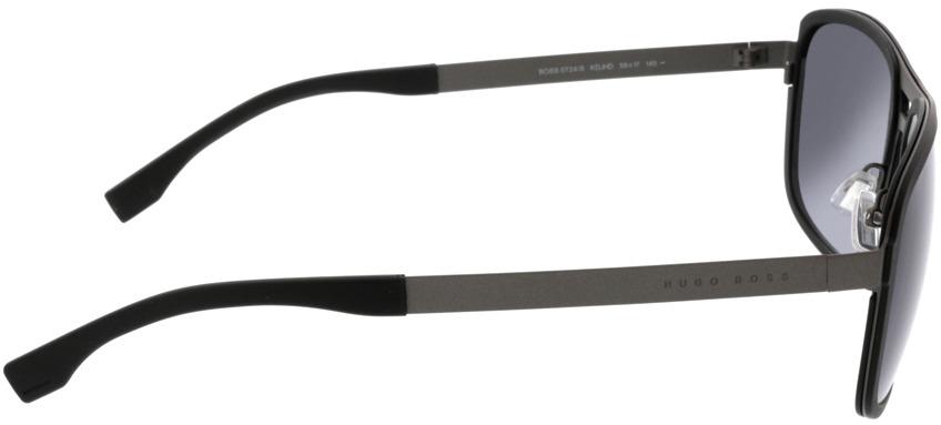Picture of glasses model Boss BOSS 0724/S KDJ 58-17 in angle 90
