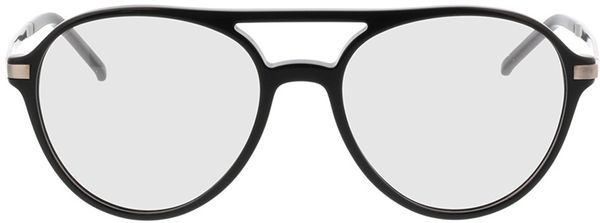 Picture of glasses model Baytown-black-grey in angle 0