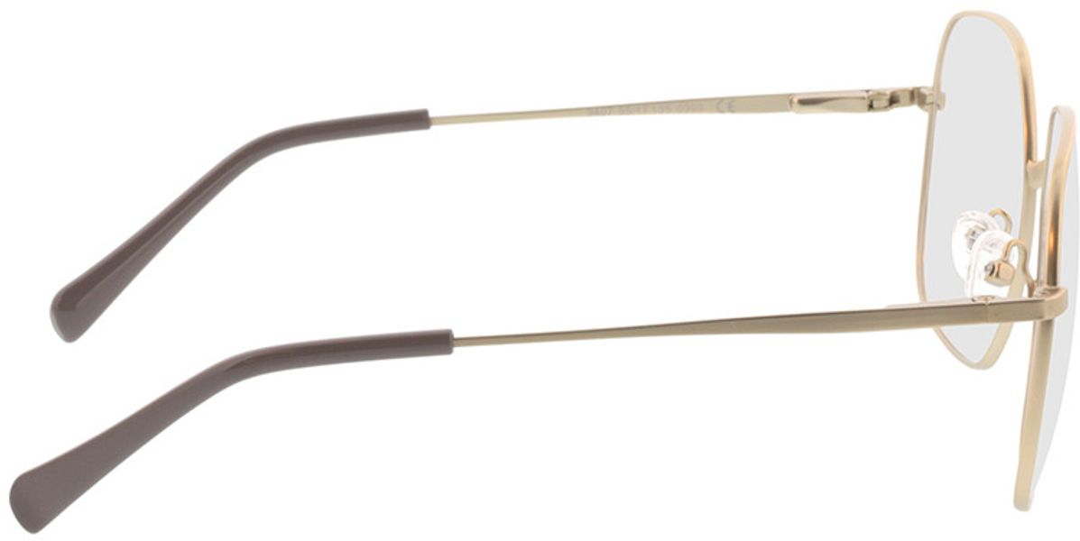 Picture of glasses model Patea-gold in angle 90