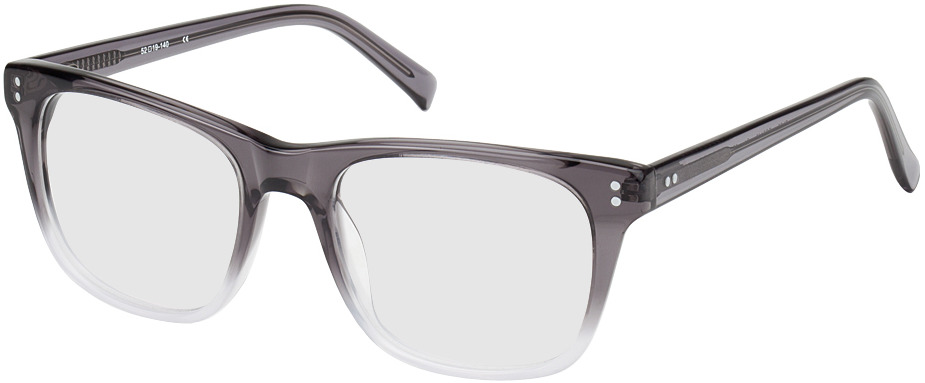 Picture of glasses model Labin Grijs/transparant in angle 330