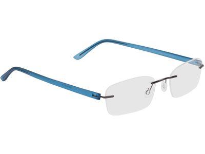 Brille Silkeborg-blau/anthrazit