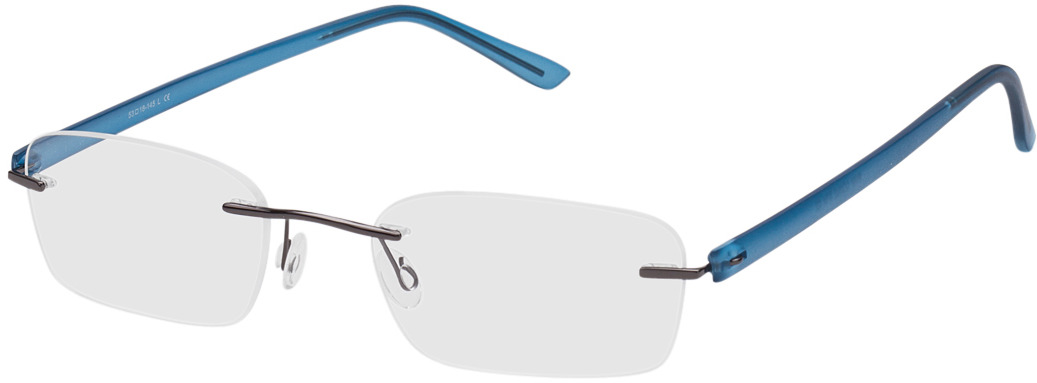 Picture of glasses model Silkeborg blauw/pulver in angle 330