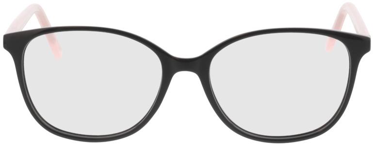 Picture of glasses model Grazia-schwarz/rosa in angle 0