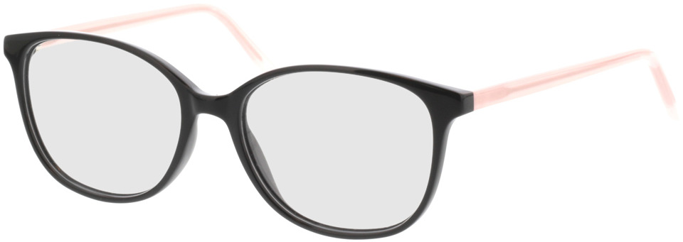 Picture of glasses model Grazia-schwarz/rosa in angle 330