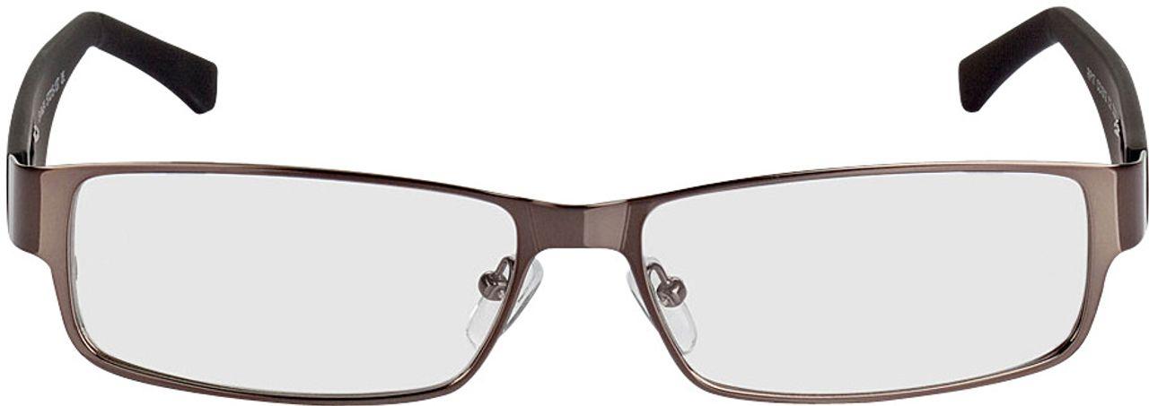 Picture of glasses model Alicante-gun-black in angle 0