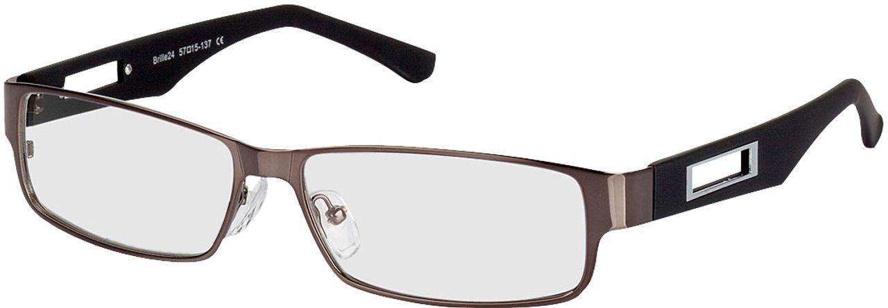 Picture of glasses model Alicante-gun-black in angle 330
