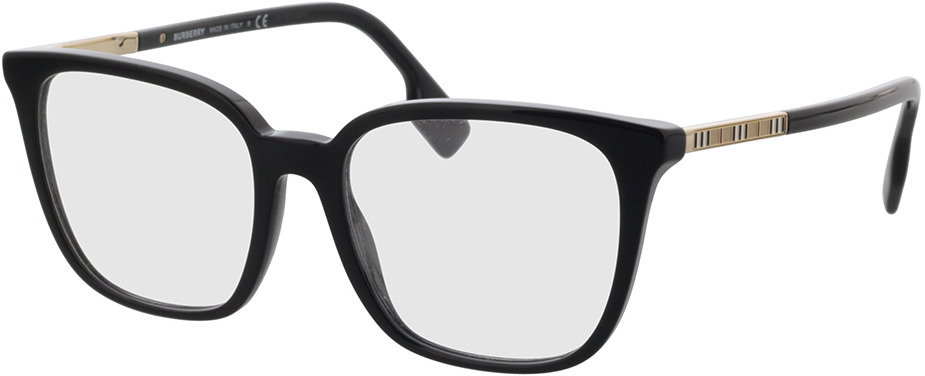 Picture of glasses model Burberry BE2338 3001 53-17 in angle 330