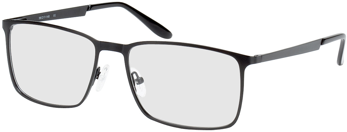 Picture of glasses model Colchester noir in angle 330