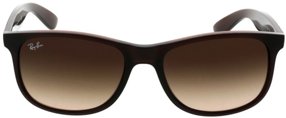 Picture of glasses model Ray-Ban Andy RB4202 607313 55-17 in angle 0