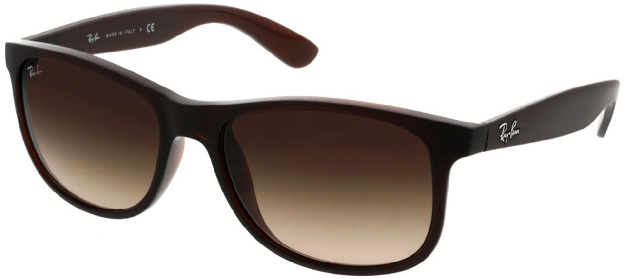 Picture of glasses model Ray-Ban Andy RB4202 607313 55-17 in angle 330