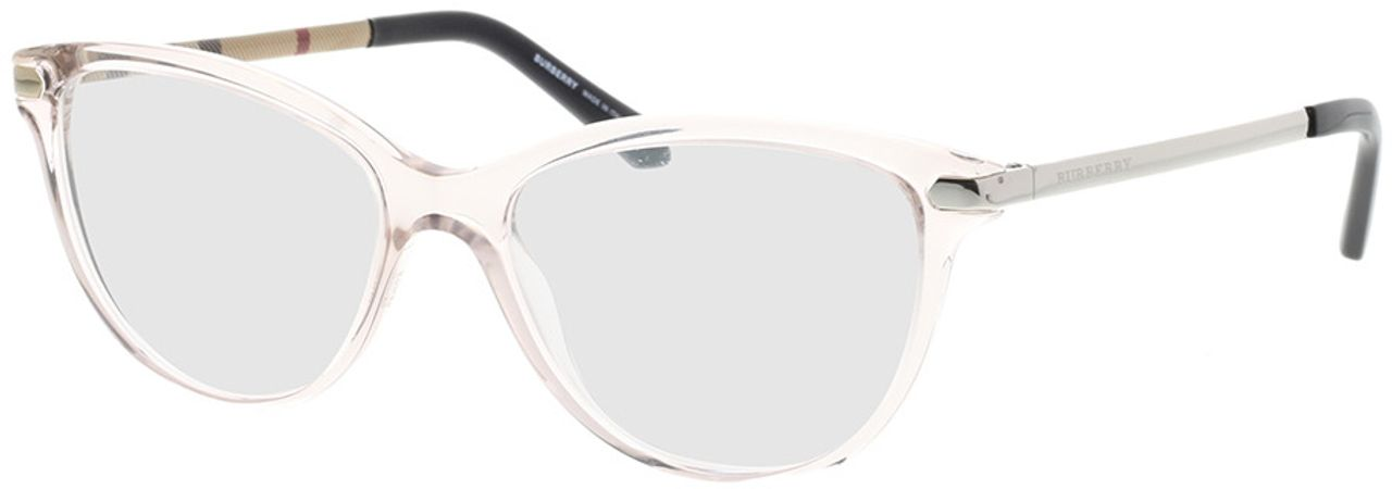 Picture of glasses model Burberry BE2280 3780 52-16 in angle 330