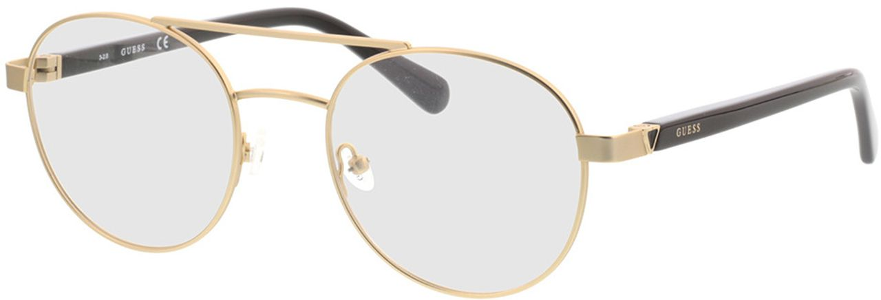 Picture of glasses model Guess GU1967 032 51-20 in angle 330