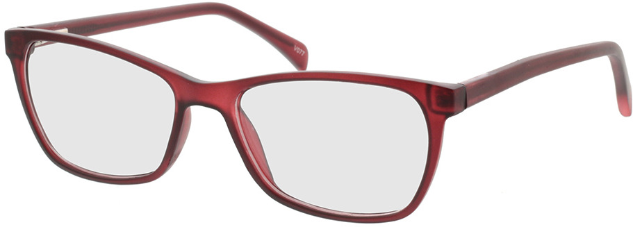 Picture of glasses model Adelina-matt rot in angle 330